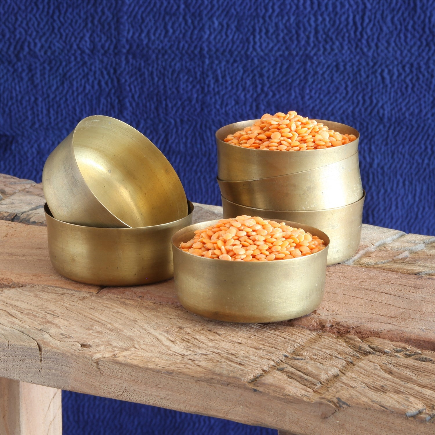 Dalia Brass Bowl Polished Brass
