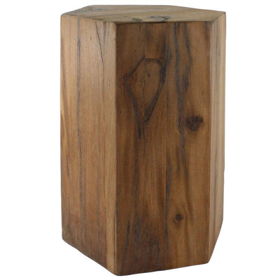 Hexagonal Wood Block Large
