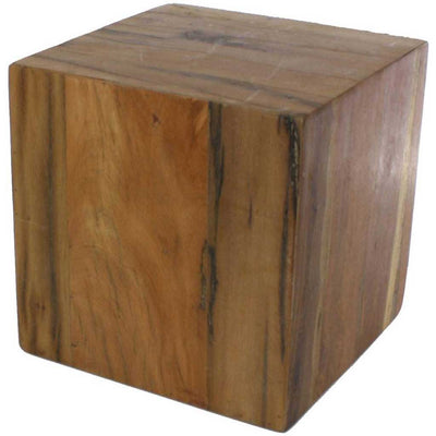Reclaimed Wood Block Small