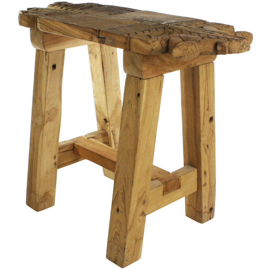 Porter Salvaged Wood Stool