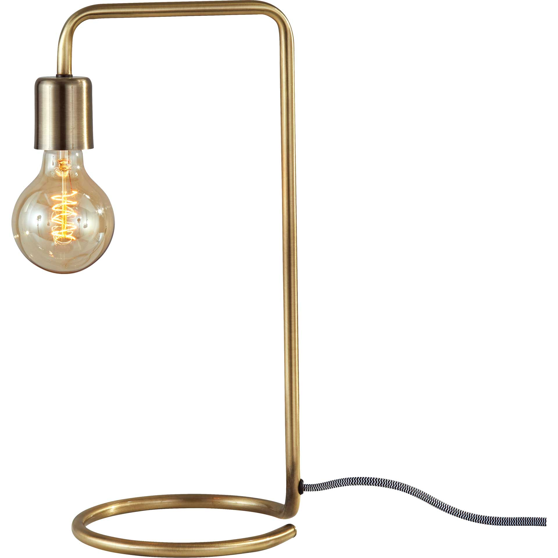 Montgeron Desk Lamp Antique Brass