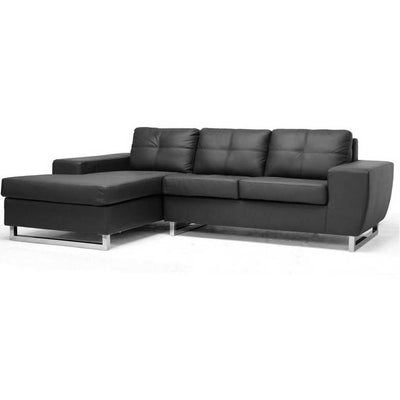 Turin Sectional Sofa Black