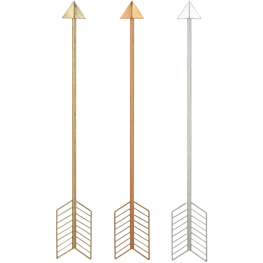 Callan Metallic Arrows (Set of 3)