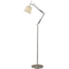 Architecture Floor Lamp Brushed Steel