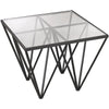 Holter Geometric Side Table