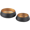 Roshal Hammered Metal Bowls (Set of 2)