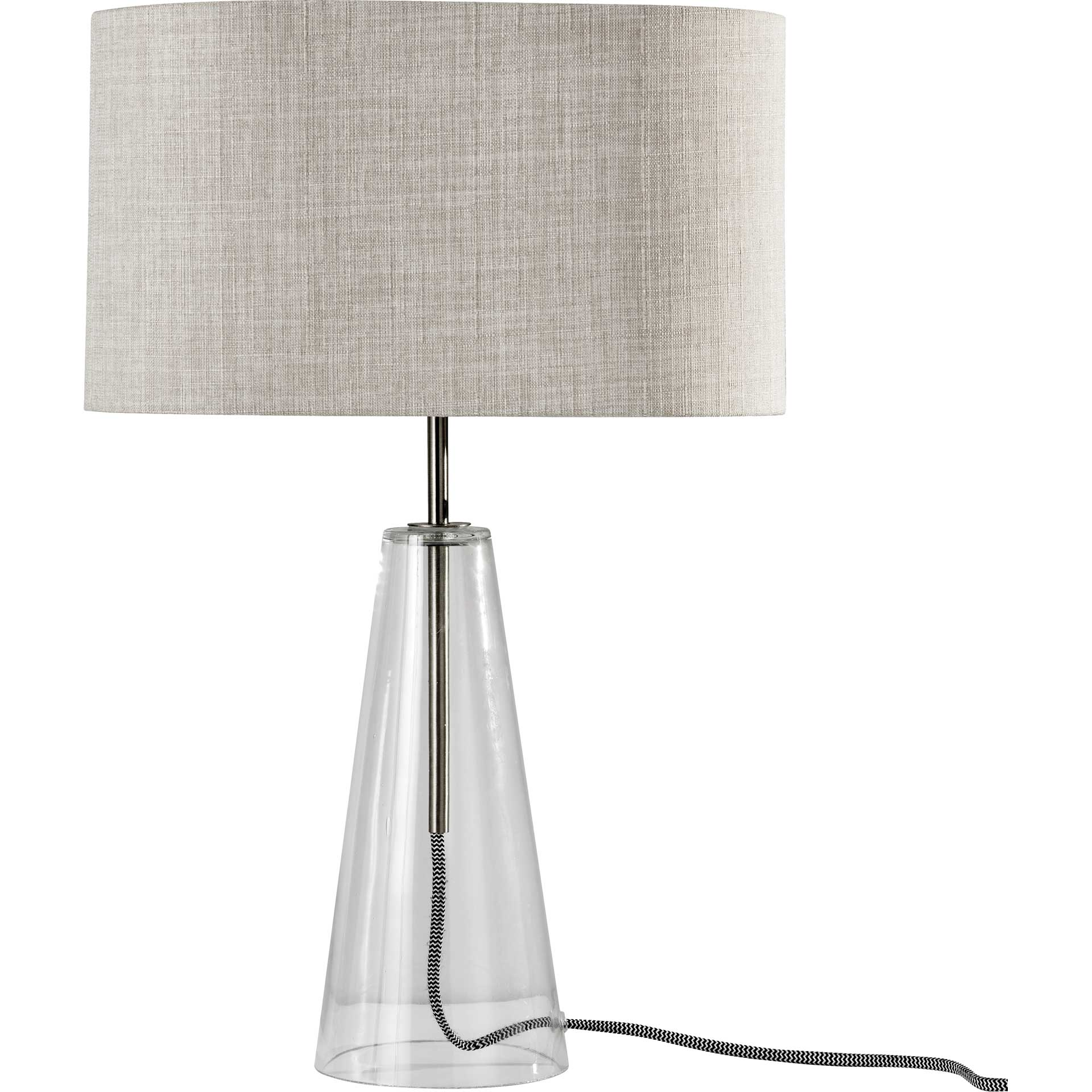 Aarhus Table Lamp Brushed Steel