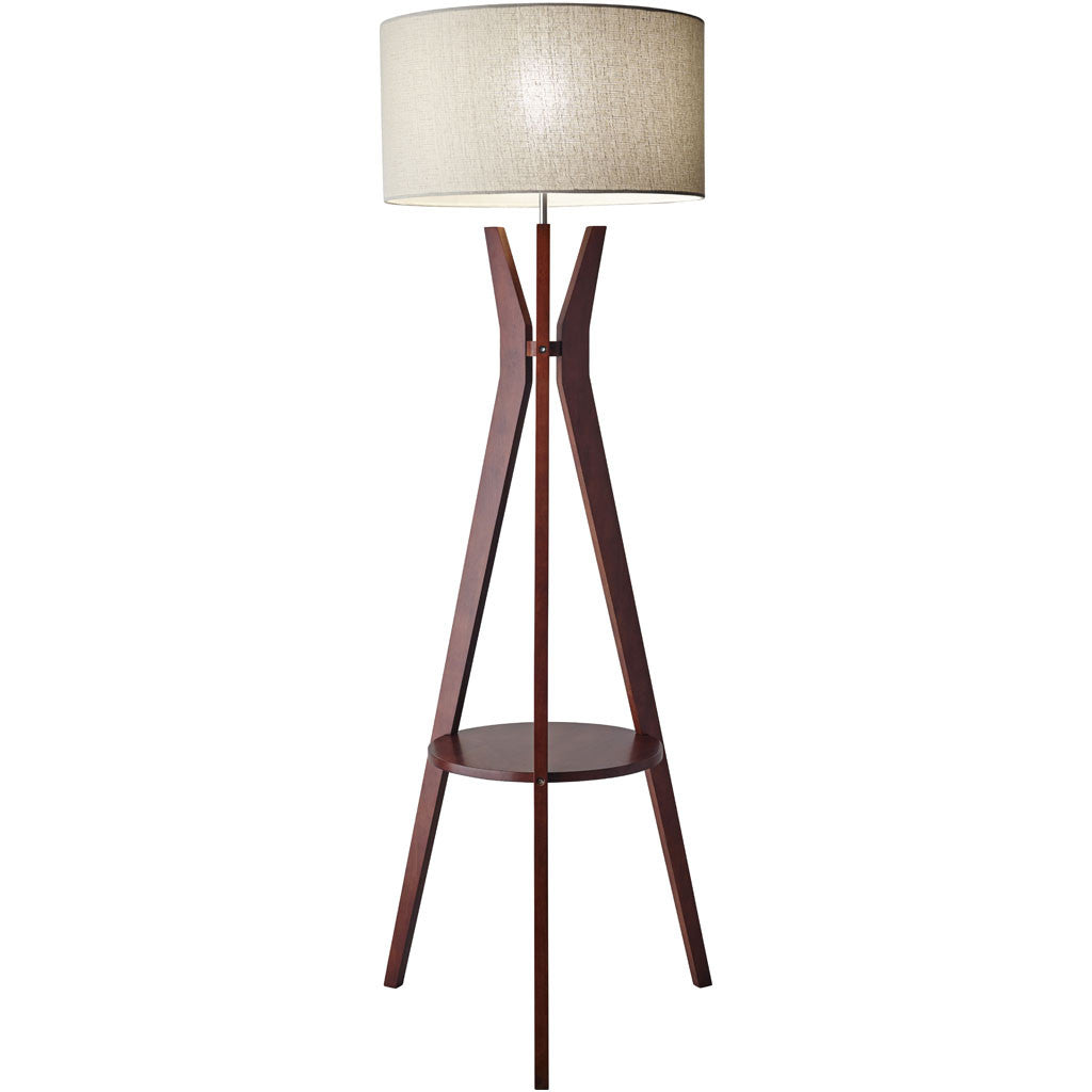 Beckler Shelf Floor Lamp