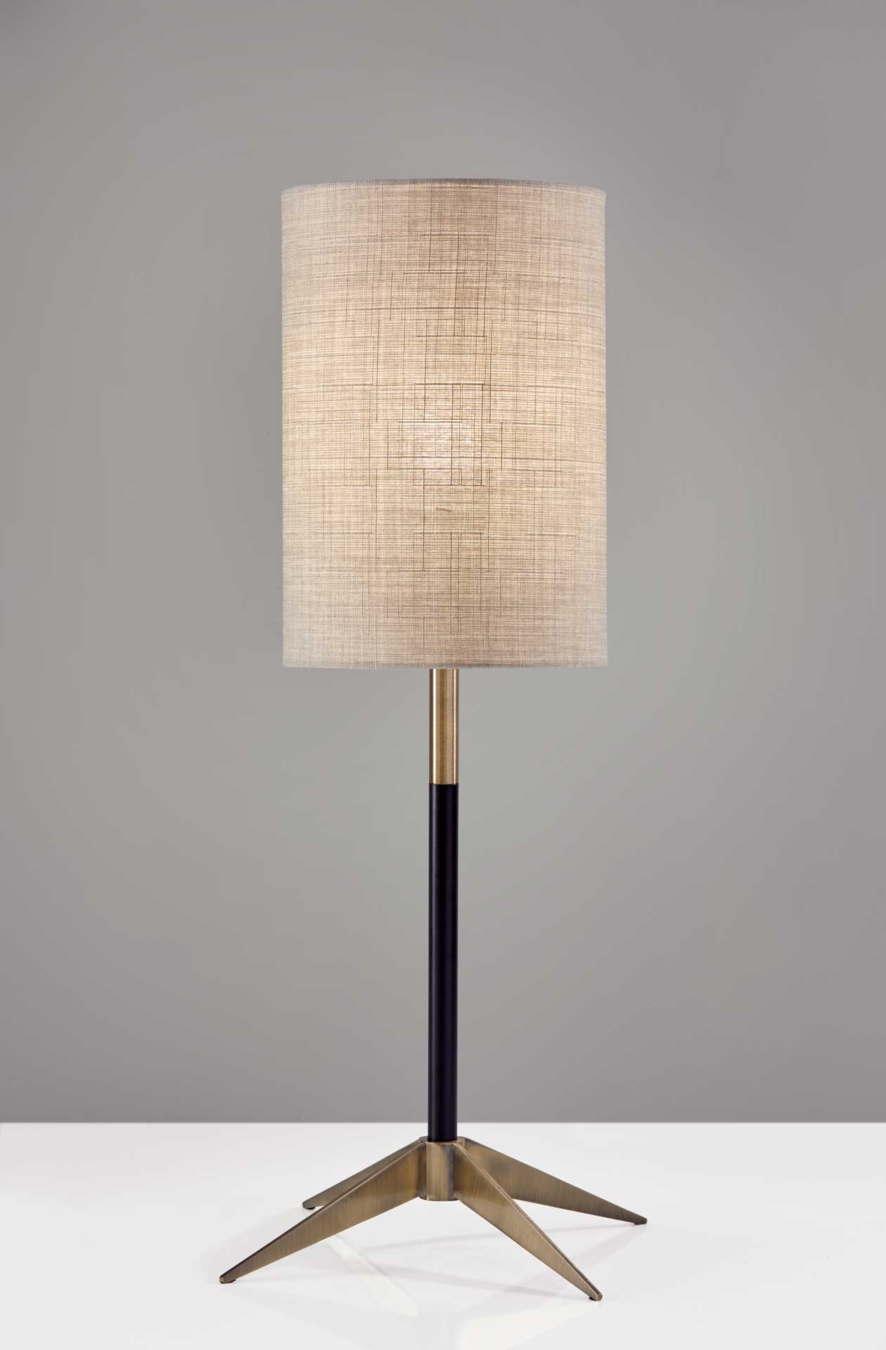 Denain Table Lamp Brass/Black