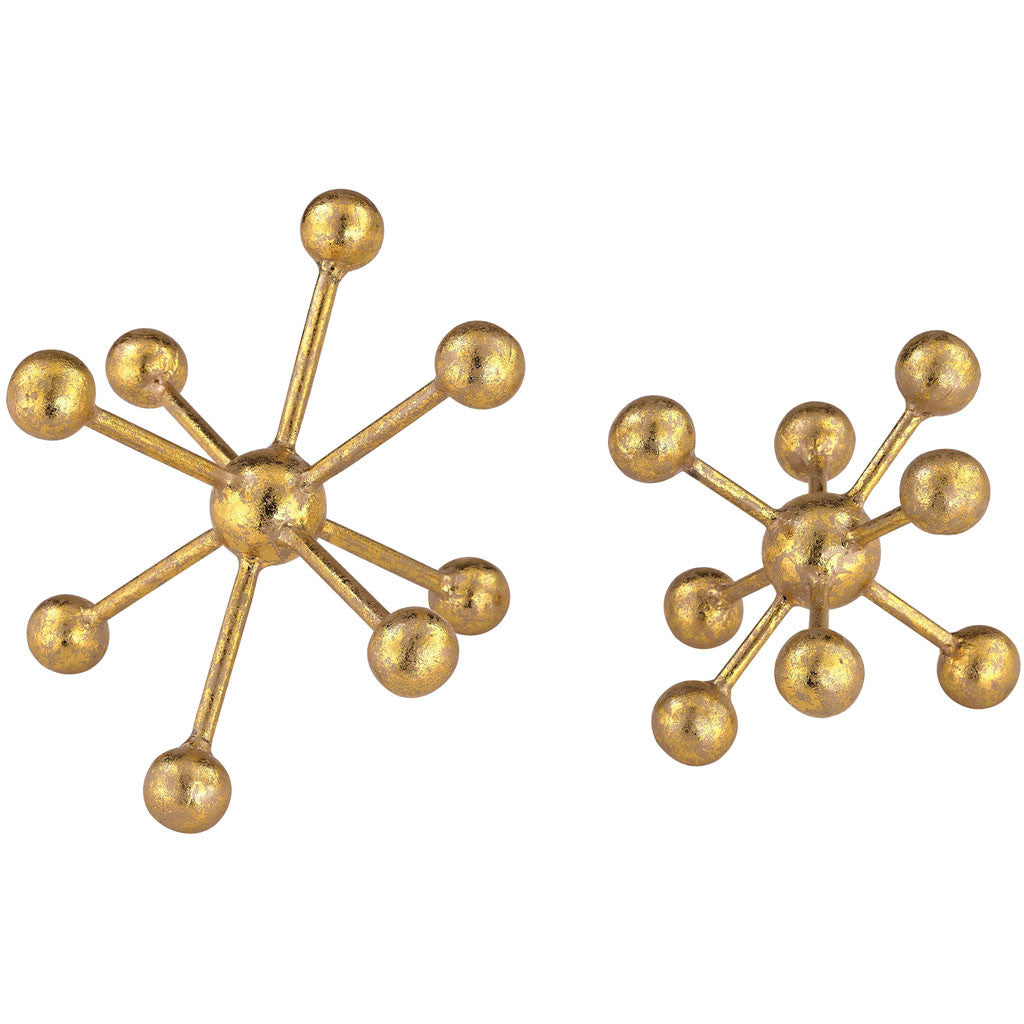 Otto Gold Molecules (Set of 2)