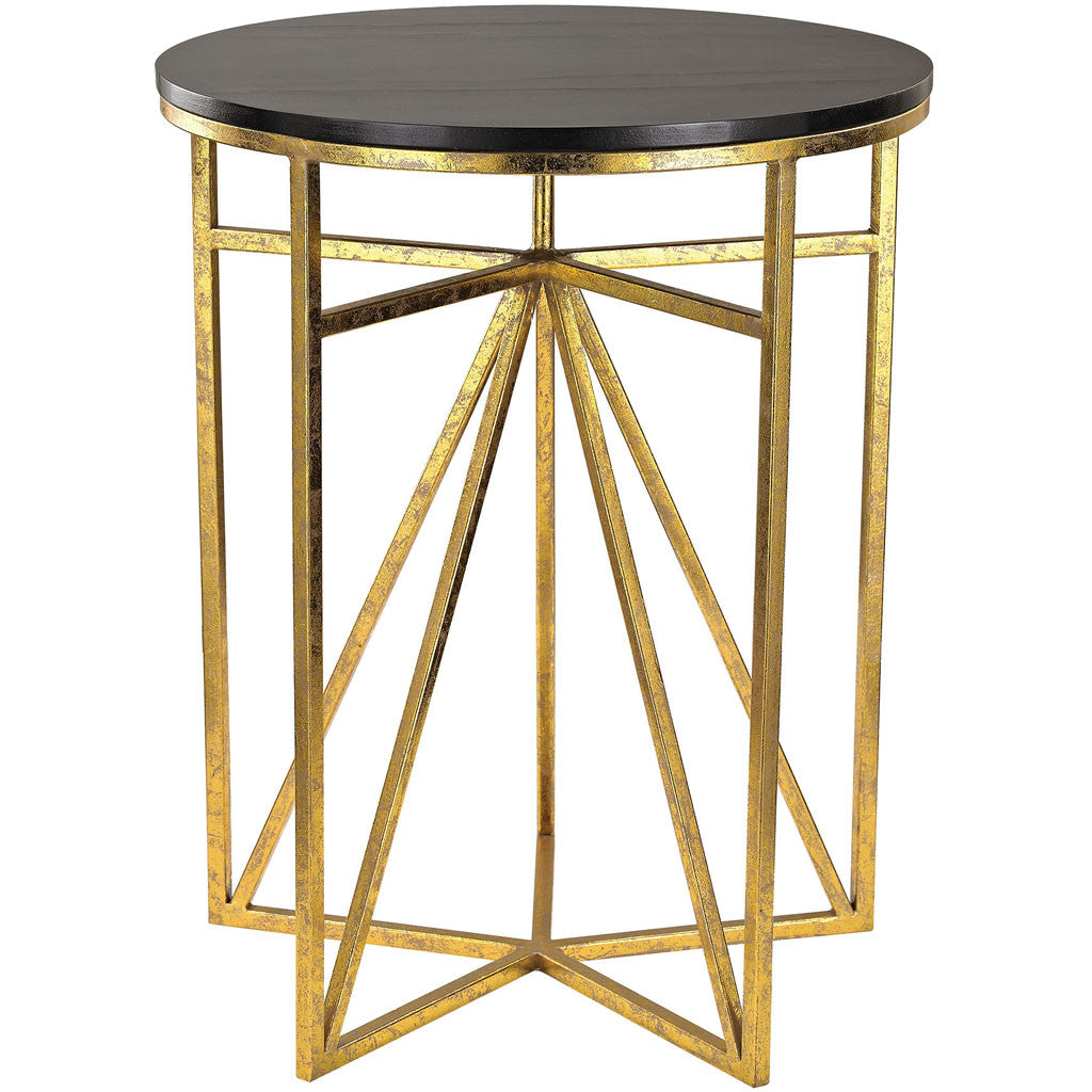 Everest Geometric Accent Table - Everest Geometric Accent Table - FROY