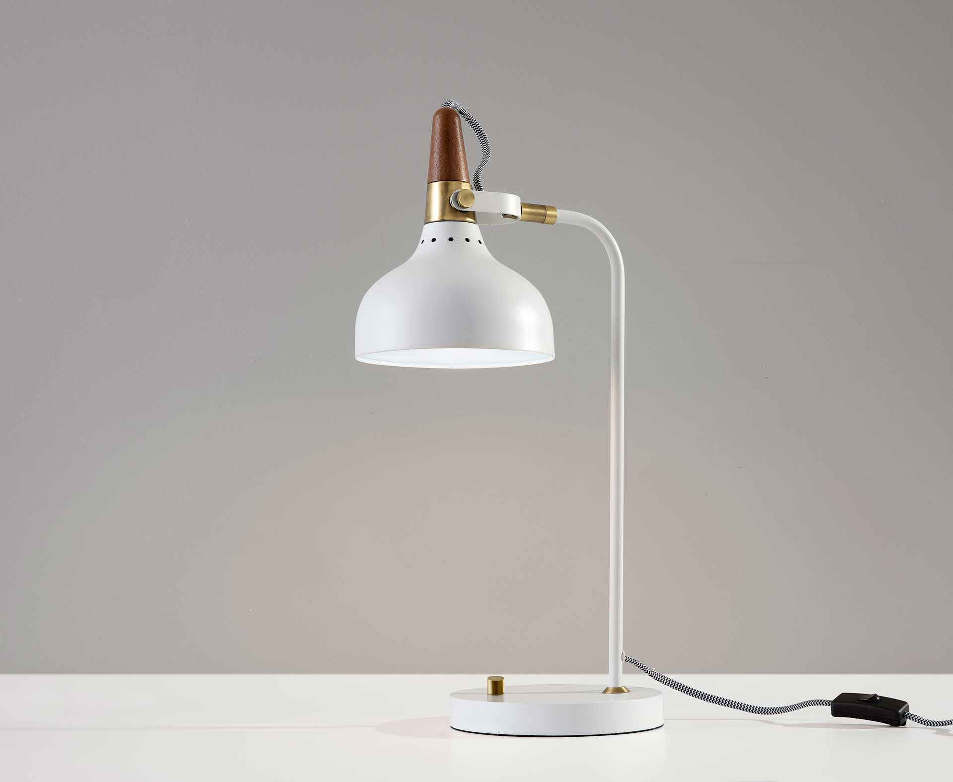 Brest Desk Lamp White