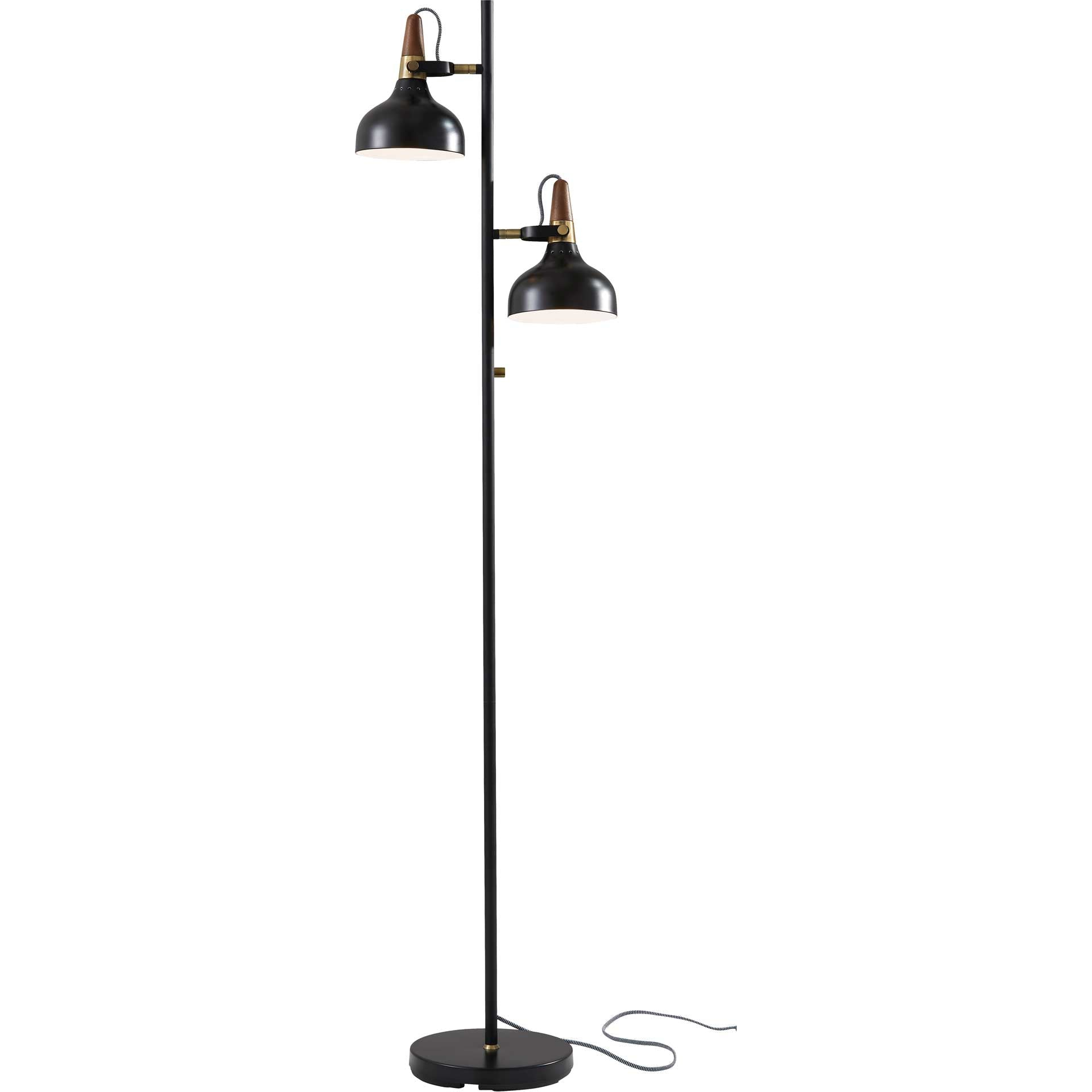 Brest Floor Lamp Black