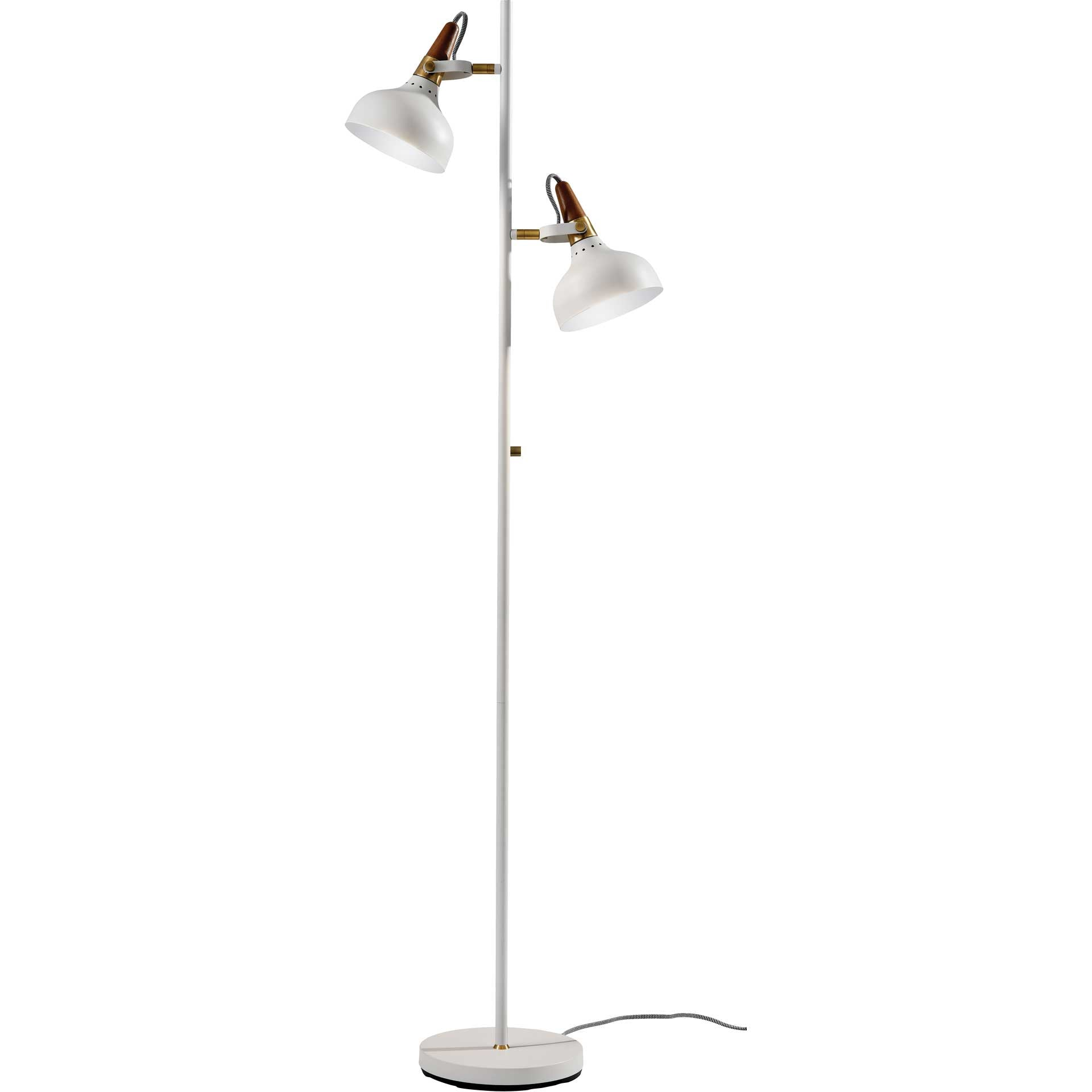 Brest Floor Lamp White