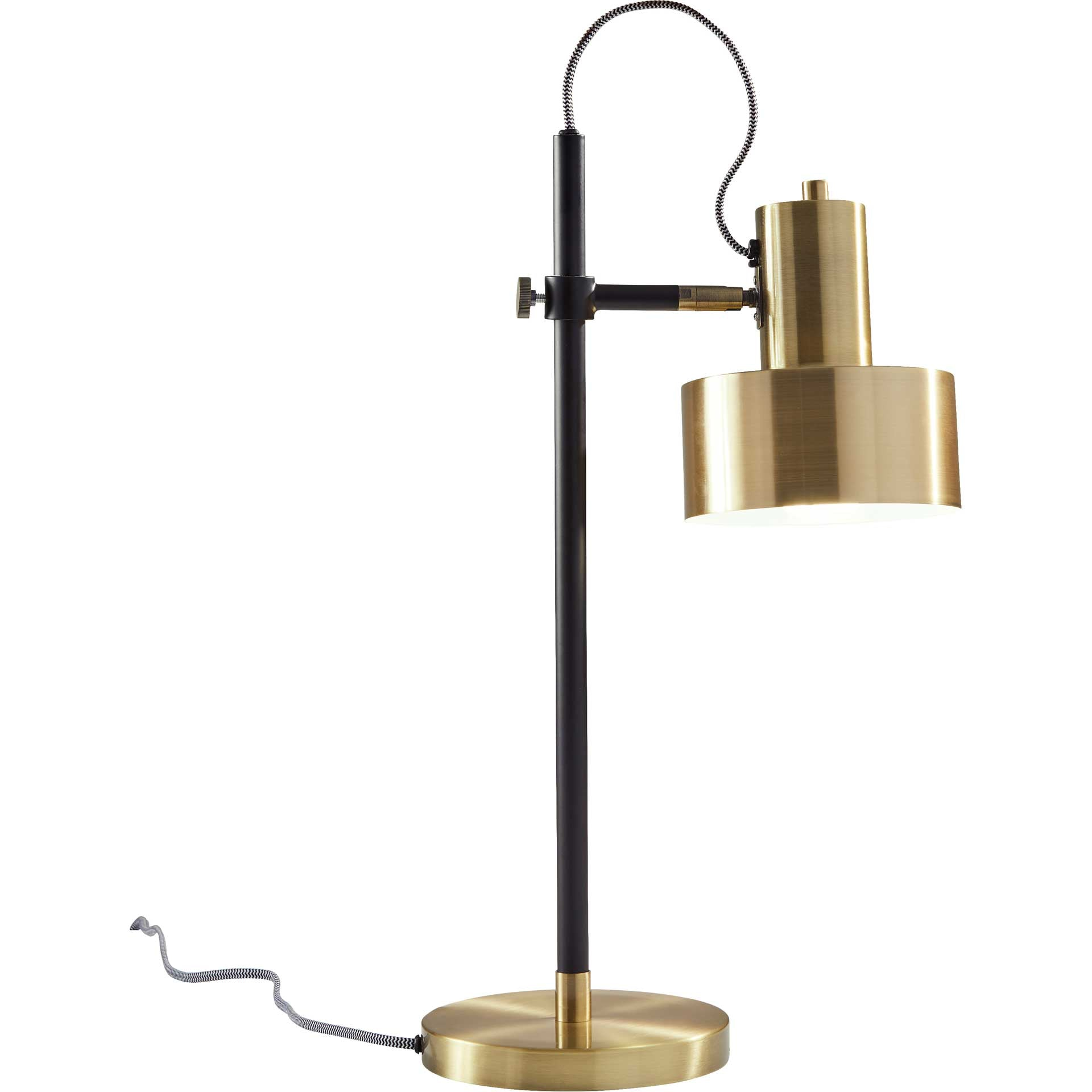 Clamart Desk Lamp Brass/Black