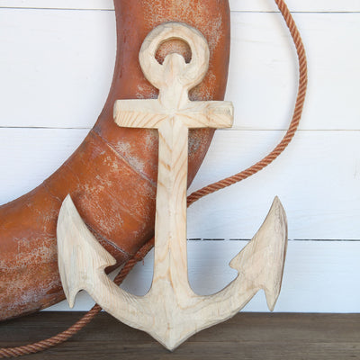 Carved Wood Anchor