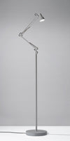 Quincy Floor Lamp Gray