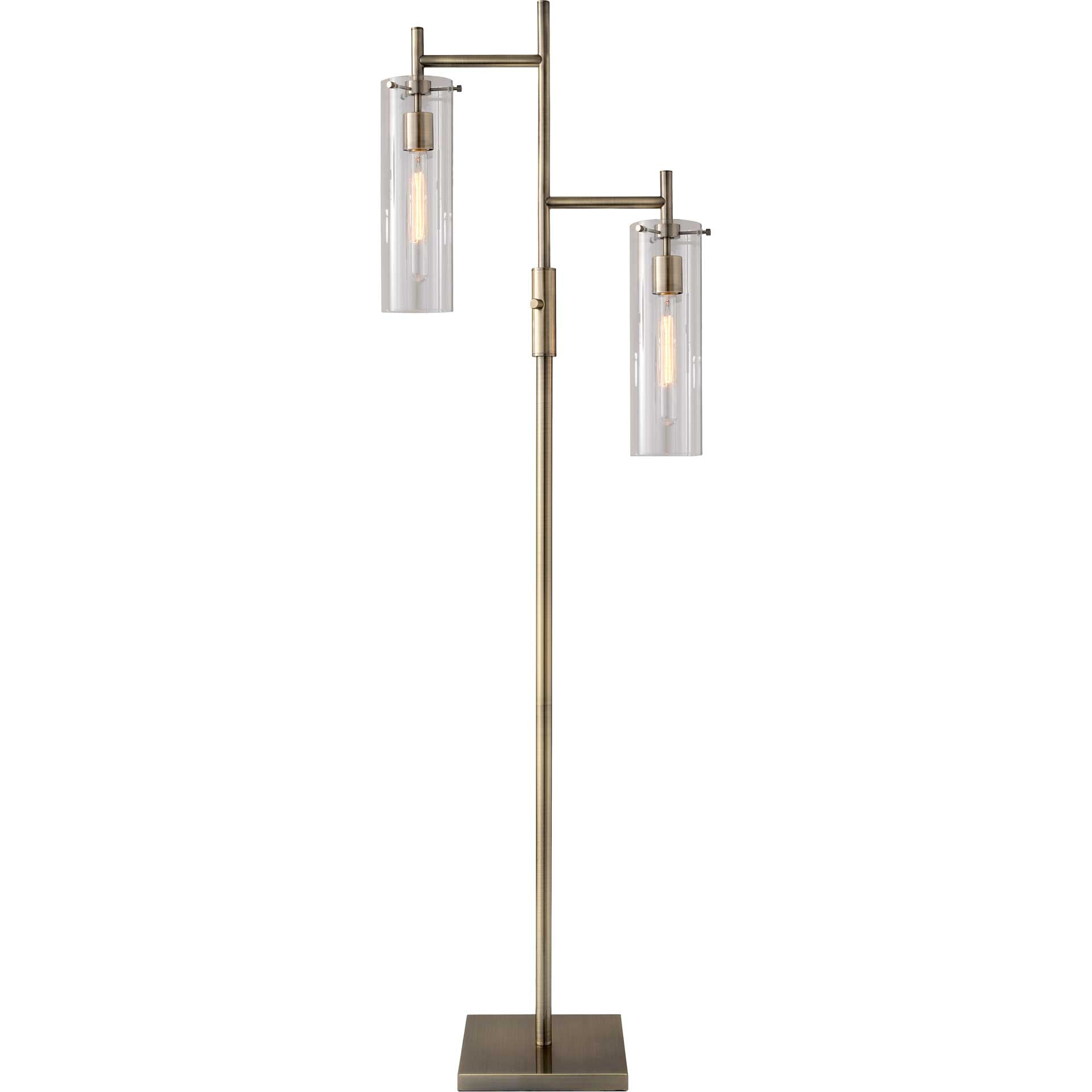 Denis Floor Lamp Brass