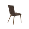 Yosemite Side Chair Brown/Walnut (Set of 2)