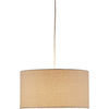 Hudson Drum Pendant Natural
