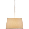 Hudson Tapered Drum Pendant Natural