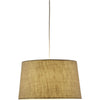 Hudson Tapered Drum Pendant Wheat