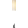 Besler Floor Lamp Black Nickel