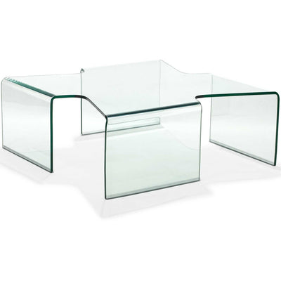 Meriden Coffee Table Clear Glass