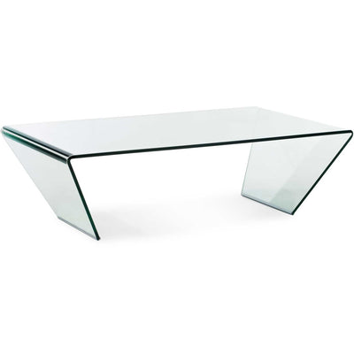 Middlebury Coffee Table Clear Glass
