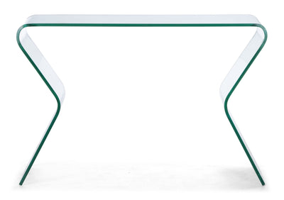 Redding Console Table Clear Glass
