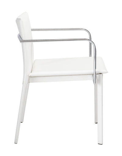 Gallant Conference Chair White (Set of 2)