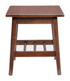 Avera Side Table Walnut