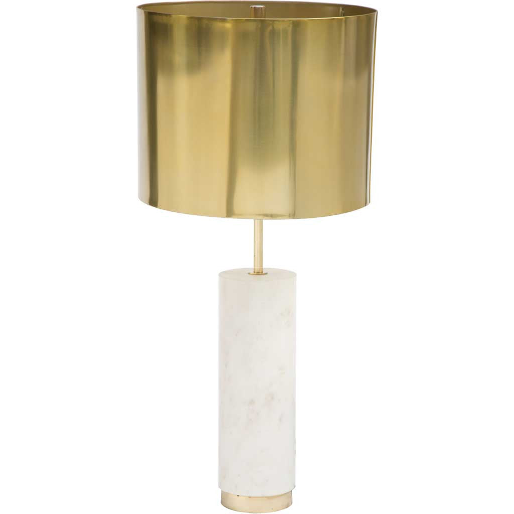 Yvette Table Lamp Brass