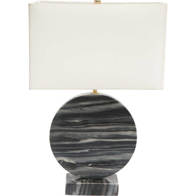 Simeon Table Lamp White/Black