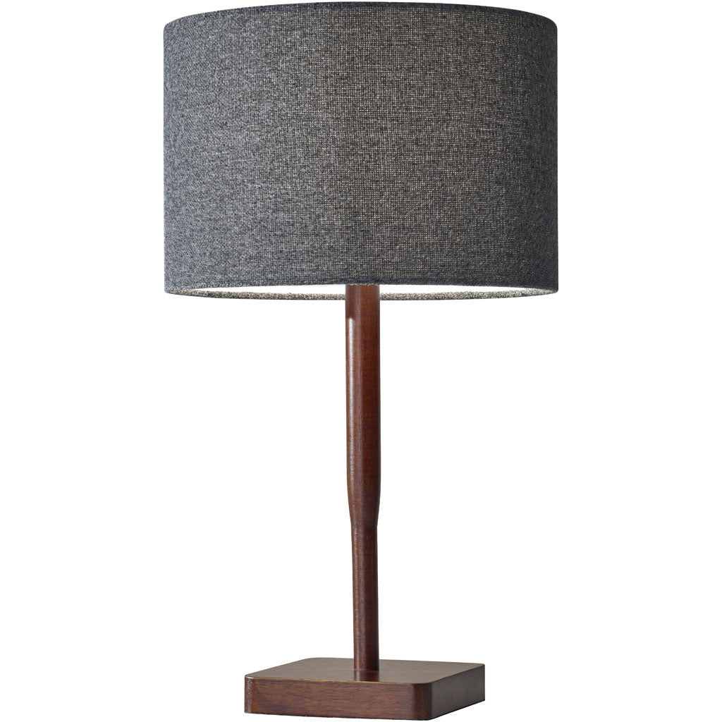 Elden Table Lamp Walnut