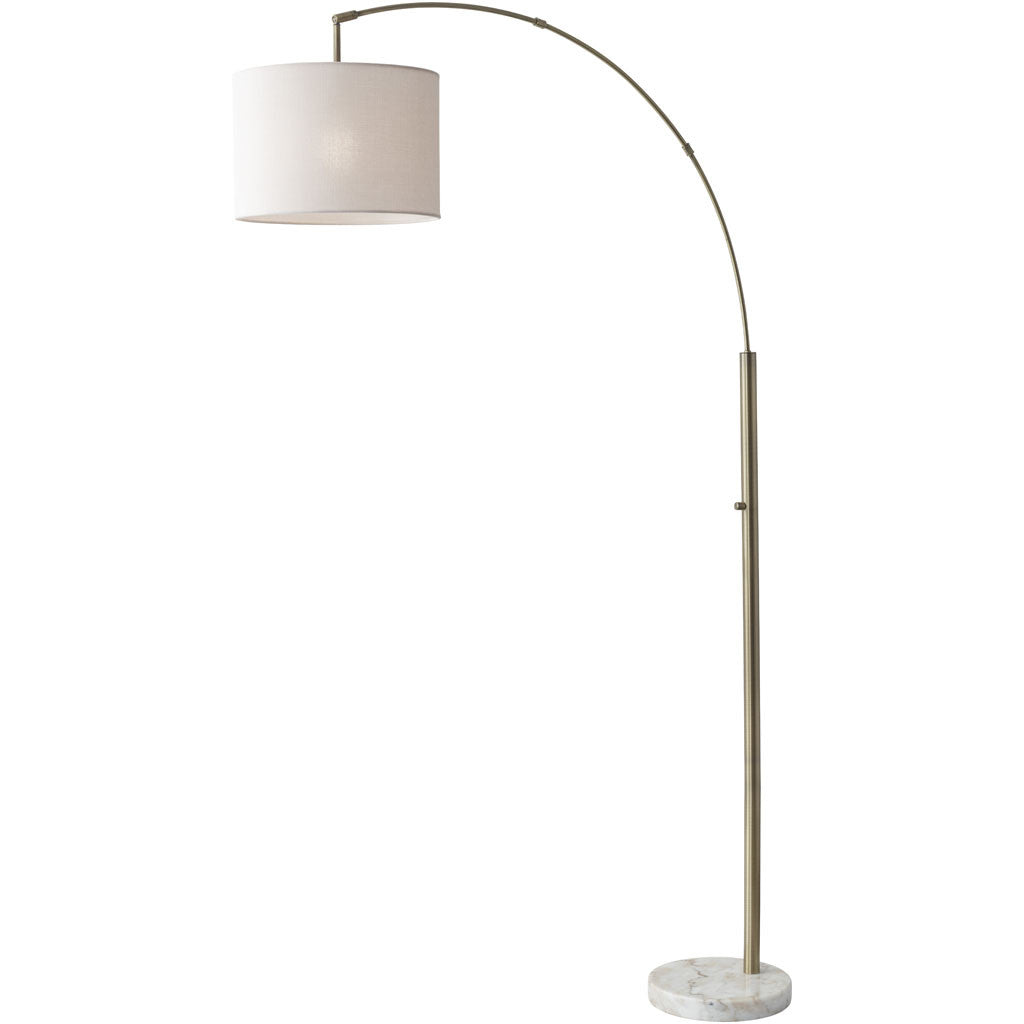Boston Arc Lamp Antique Brass