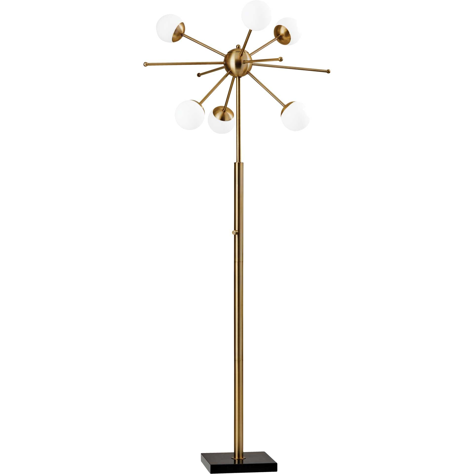Dole LED Floor Lamp Brass