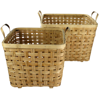 Yunnan Bamboo Basket Natural (Set of 2)