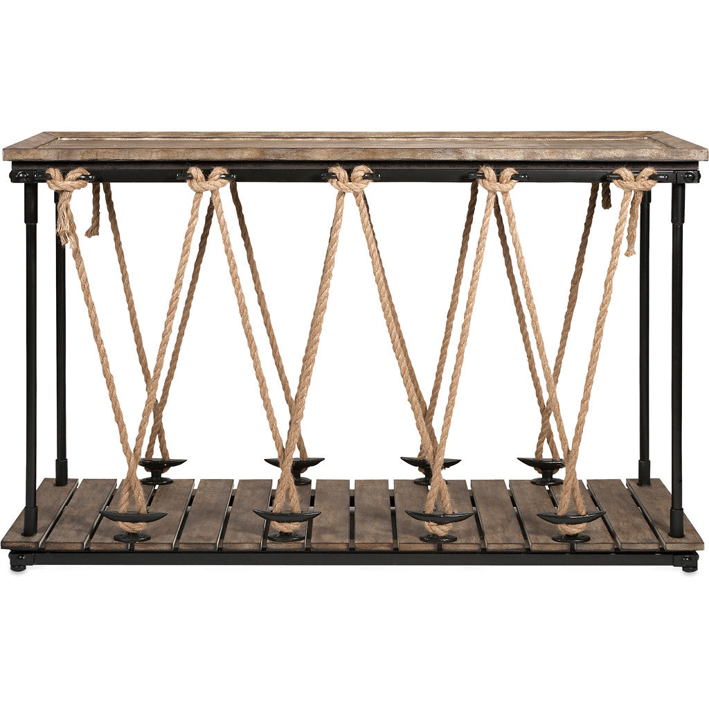 Abrahams Rope Console Table