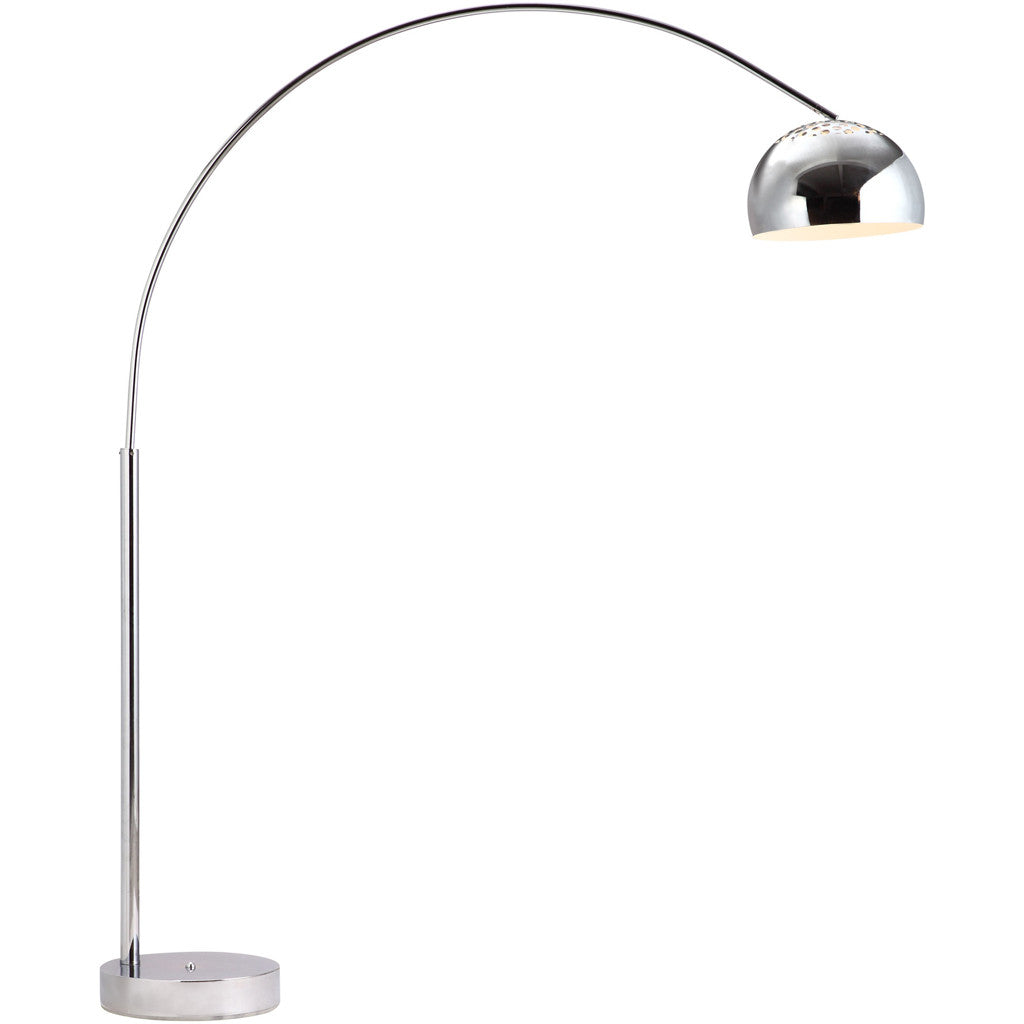 Gaines Floor Lamp Chrome
