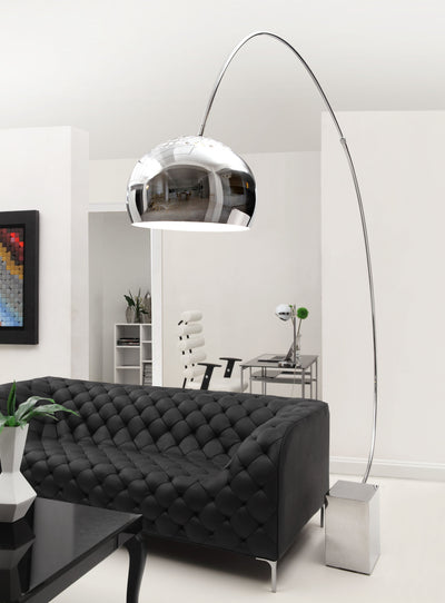 Garden Floor Lamp Chrome