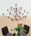 Bedum Ceiling Lamp Chrome