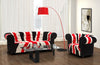 Troy Floor Lamp Red Black Base