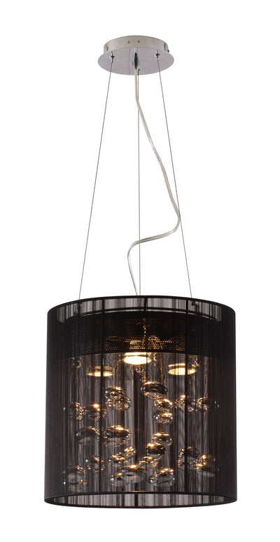 Schinnen Ceiling Lamp Black