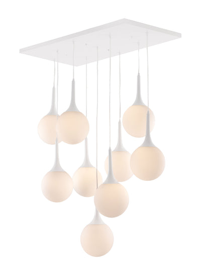 Droplets Ceiling Lamp White