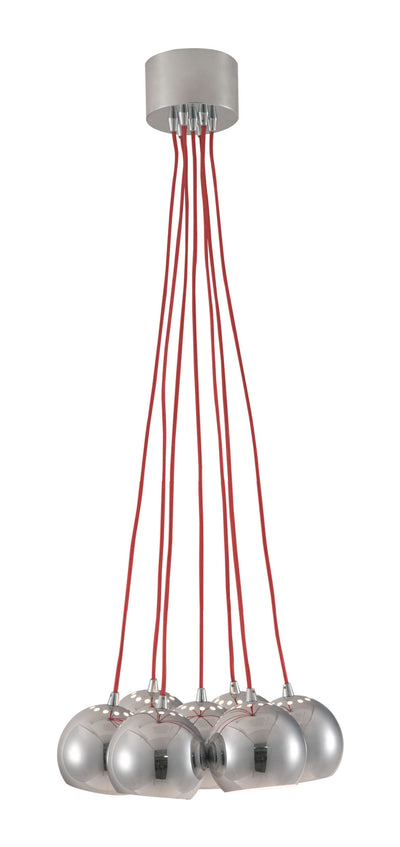 Kaag Ceiling Lamp Red