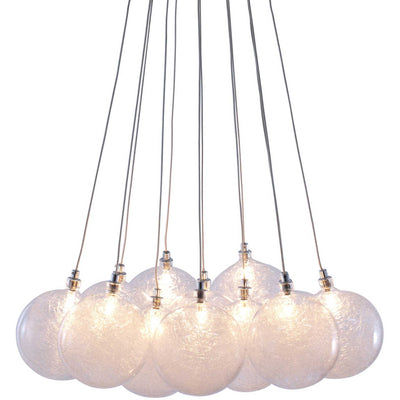 Stars Ceiling Lamp Clear