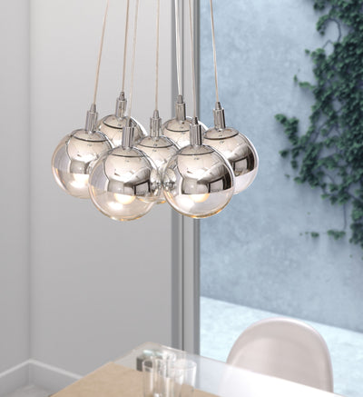 Tholen Ceiling Lamp Chrome