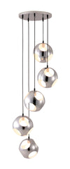 Makole Ceiling Lamp Chrome