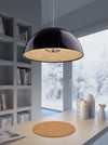 Atmos Ceiling Lamp Black